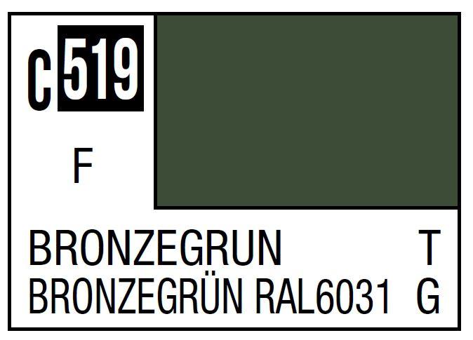 Mr Hobby Mr. Color C519 Bronzegra%N (Nato/German Tank) - 10ml