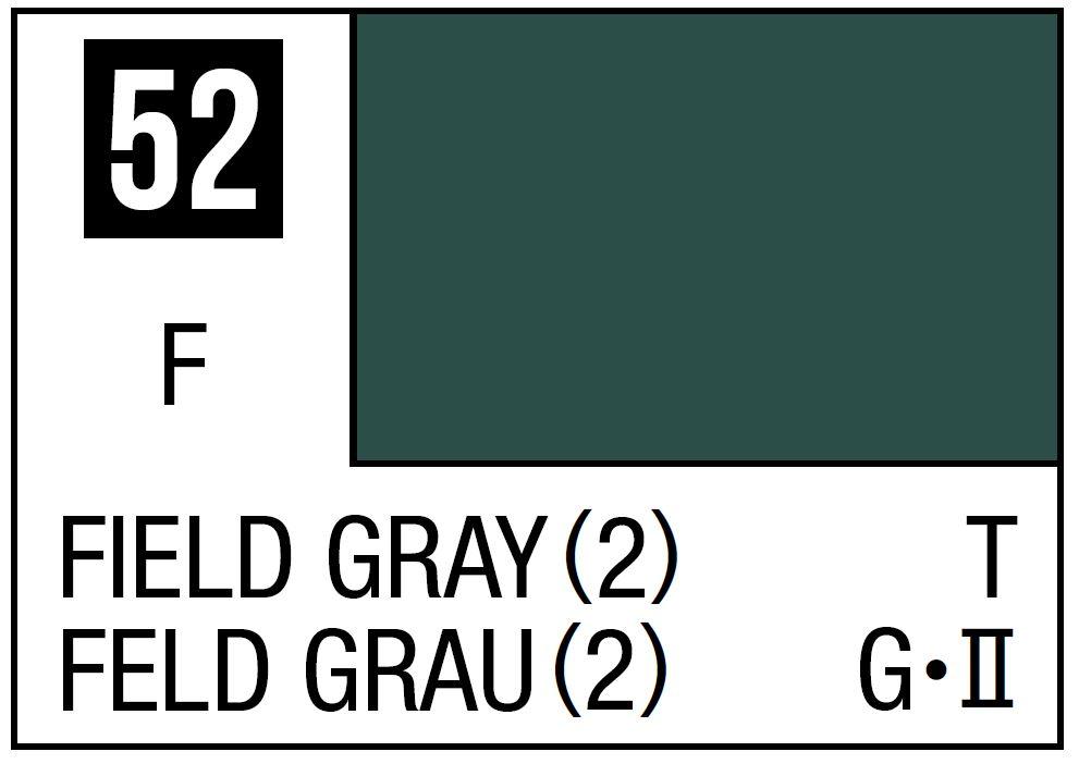 Mr Hobby Mr. Color 52 - Field Gray 2 (Flat/Tank) - 10ml