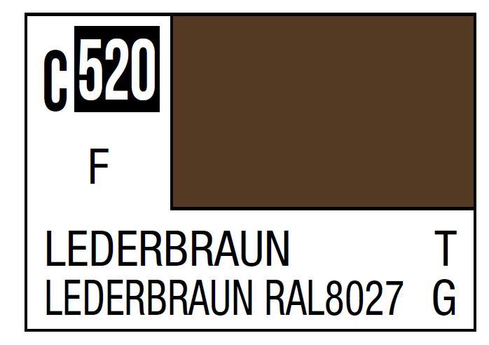 Mr Hobby Mr. Color C520 Lederbraun (Nato/German Tank) - 10ml