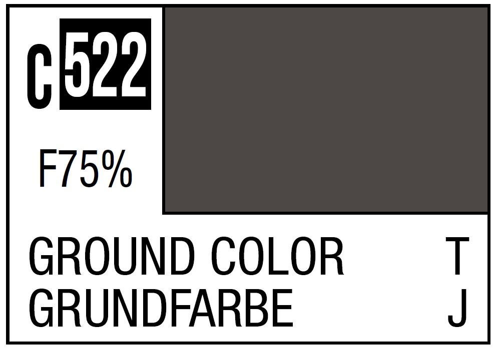 Mr Hobby Mr. Color C522 Ground Color Imperial Japanese Army Tank Late Camouflage - 10ml