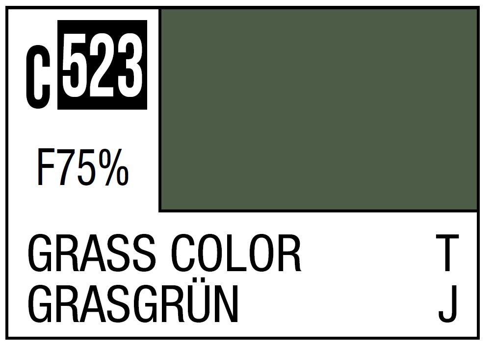 Mr Hobby Mr. Color C523 Grass Color Imperial Japanese Army Tank Late Camouflage - 10ml