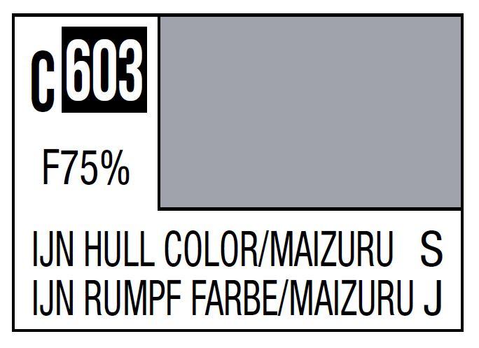 Mr Hobby Mr. Color C603 IJN Hull Color (Maizuru) (Imperial Japanese Warship / Maizuru Arsenal) - 10ml