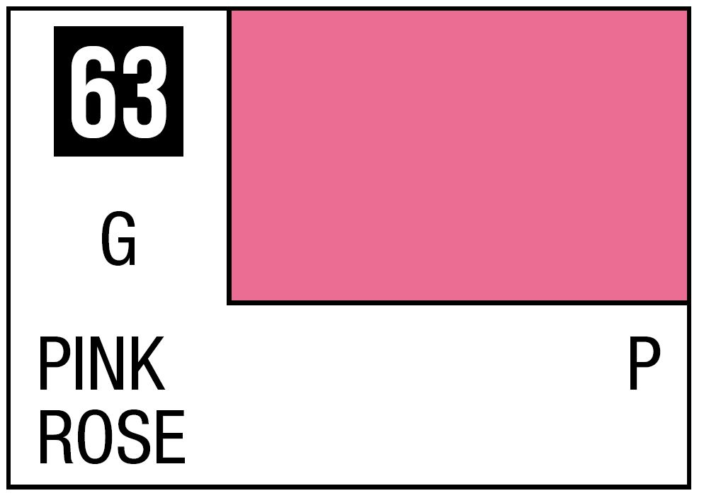 Mr Hobby Mr. Color 63 - Pink (Gloss/Primary) - 10ml