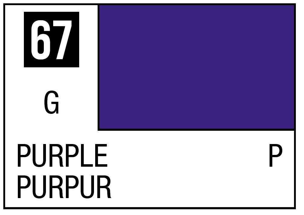 Mr Hobby Mr. Color 67 - Purple (Gloss/Primary) - 10ml