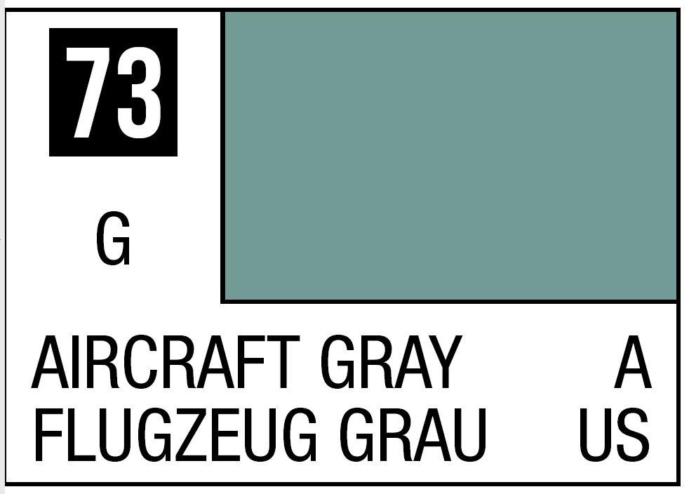 Mr Hobby Mr. Color 73 - Aircraft Gray (Gloss/Aircraft) - 10ml