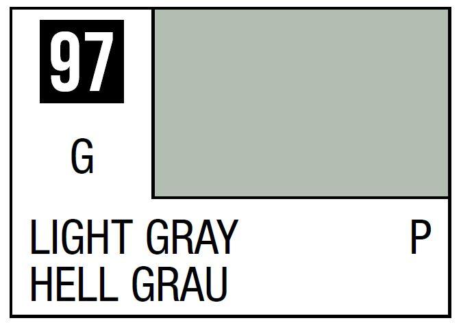 Mr Hobby Mr. Color 97 - Light Gray (Gloss/Primary) - 10ml