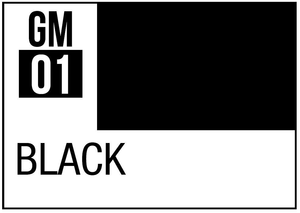 Mr Hobby Gundam Marker Black (Fine)