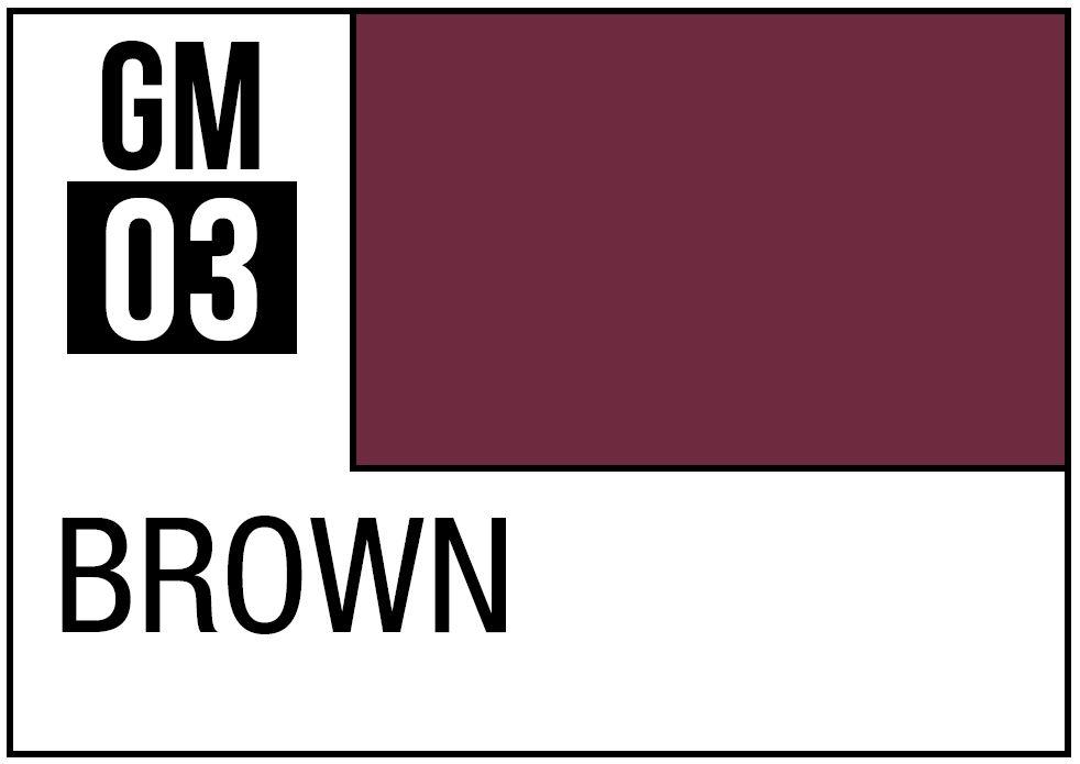 Mr Hobby Gundam Marker Brown (Fine)