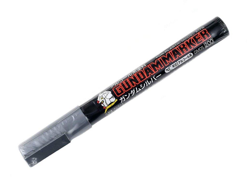Mr Hobby Gundam Marker Silver