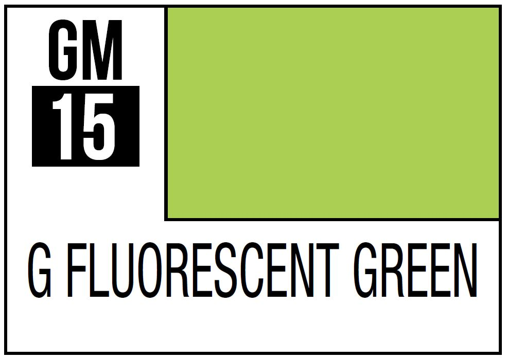 Mr Hobby Gundam Marker Gundam Fluorescent Green