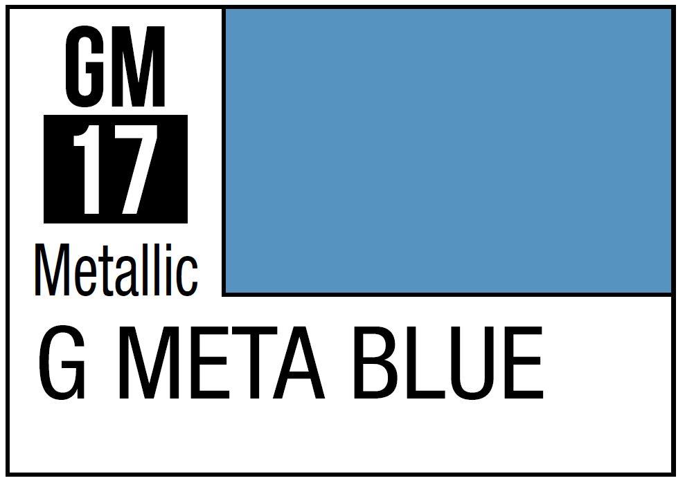 Mr Hobby Gundam Marker Metallic Blue