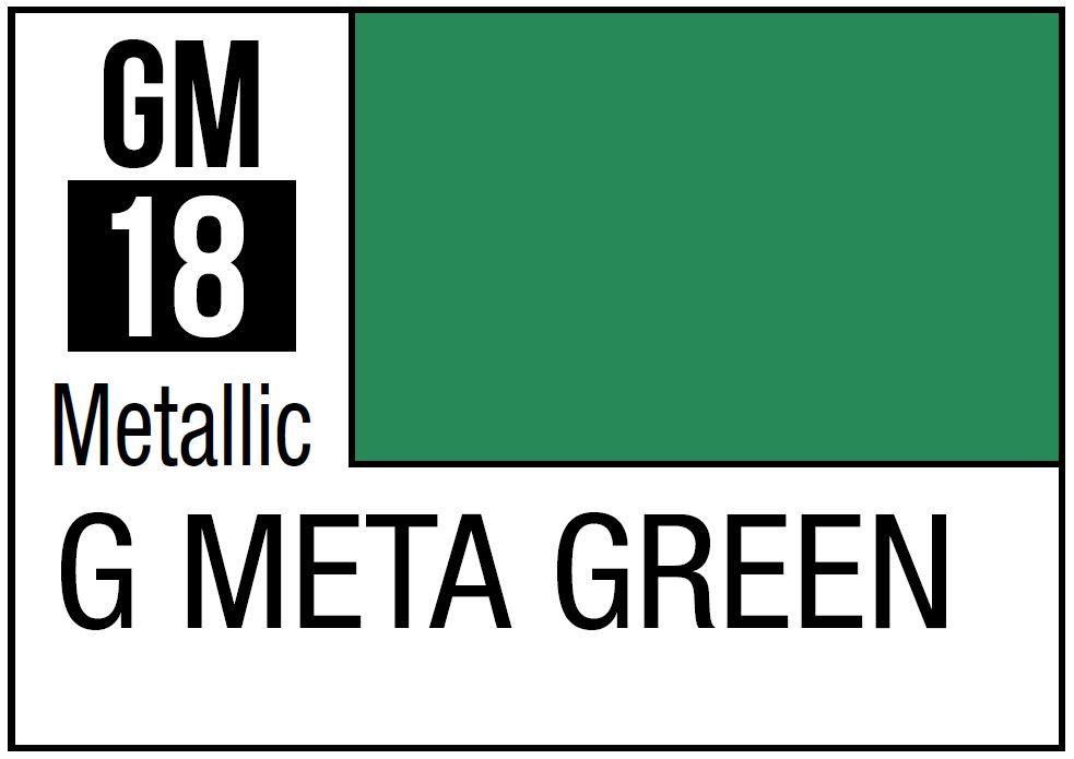 Mr Hobby Gundam Marker Metallic Gundam Green