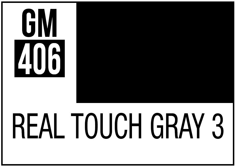 Mr Hobby Real Touch Gray 3