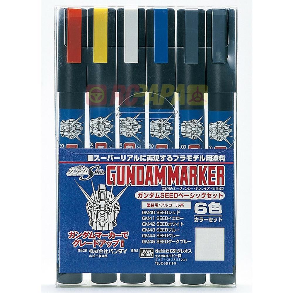 Mr Hobby Gundam Marker Set - Seed Marker