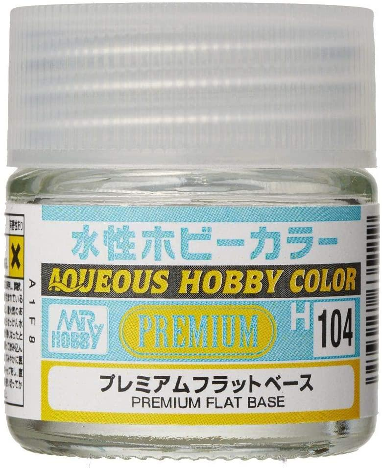 Mr Hobby Aqueous Color H104 Premium Clear Flat Base
