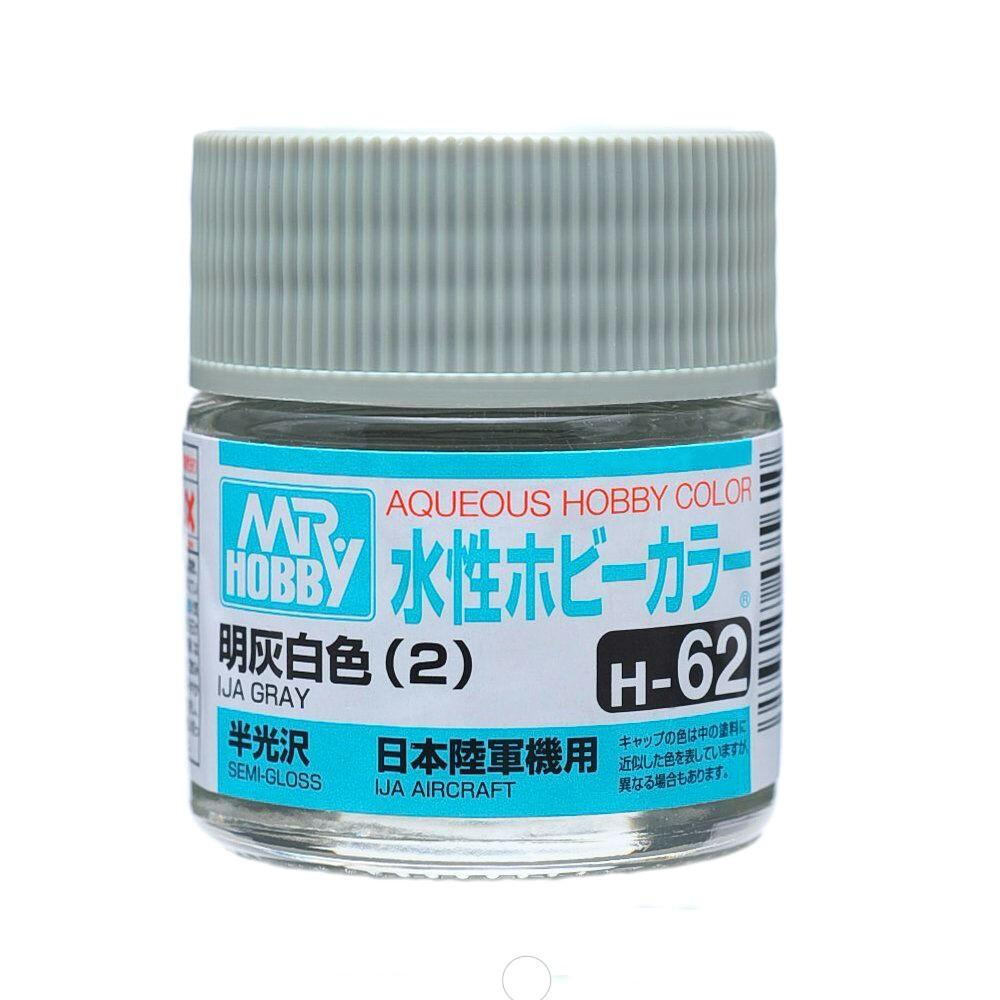 Mr Hobby Aqueous Color H62 Gloss IJA Gray(2) 10ml Bottle