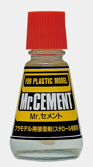 Mr Hobby Mr Cement Liquid Cement - 25ml
