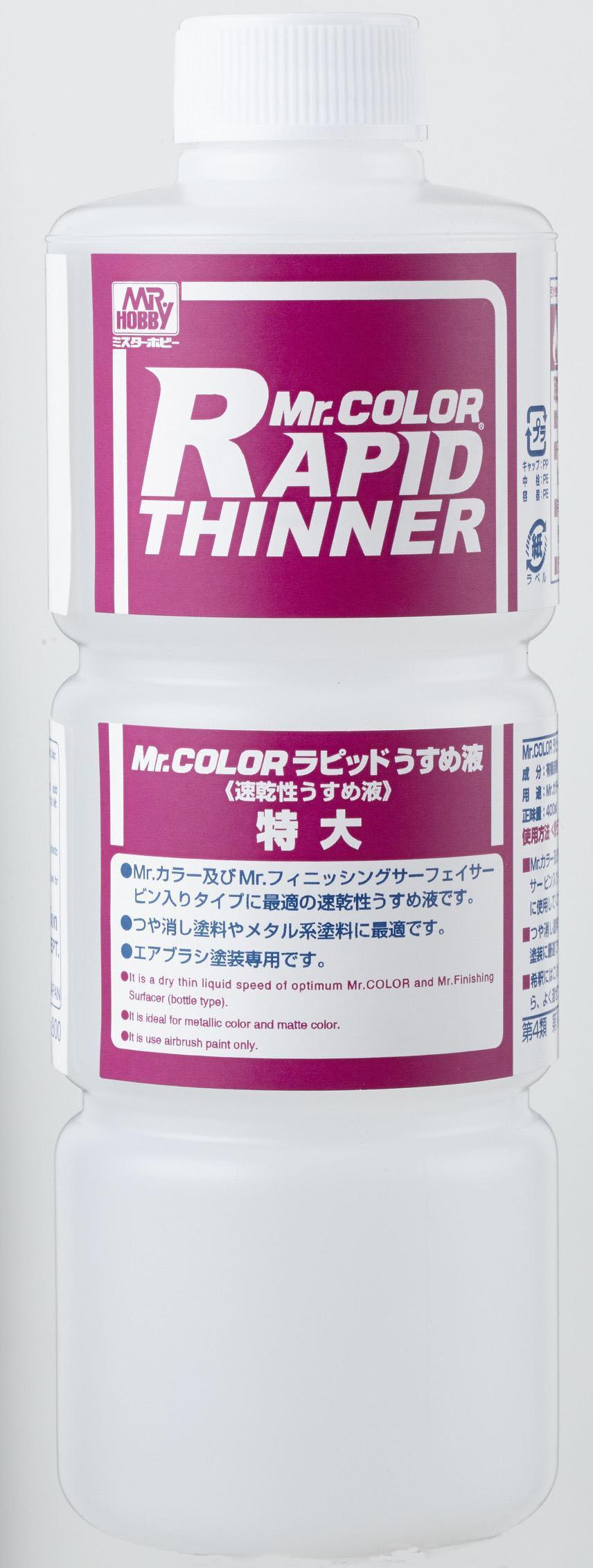 Mr Hobby Rapid Thinner 400ml Bottle