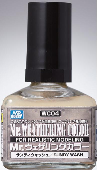 Mr Hobby Mr. Weathering Color - Sundy Wash - 40ml