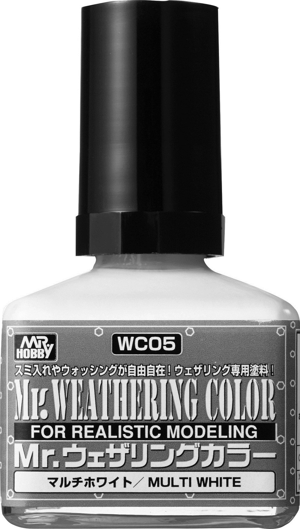 Mr Hobby Mr. Weathering Color - Multi White - 40ml