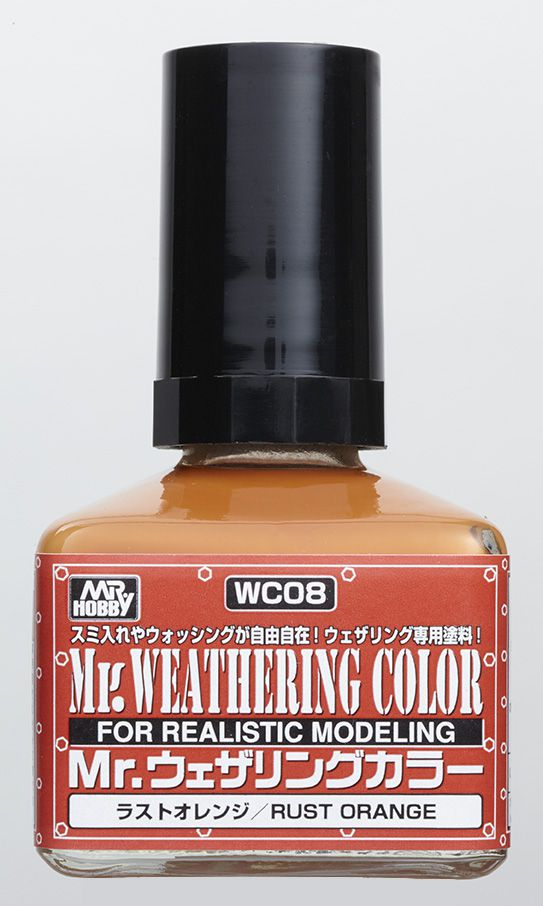 Mr Hobby Mr. Weathering Color - Rust Orange - 40ml