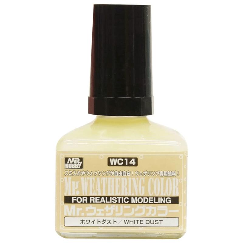 Mr Hobby Mr. Weathering Color - White Dust - 40ml