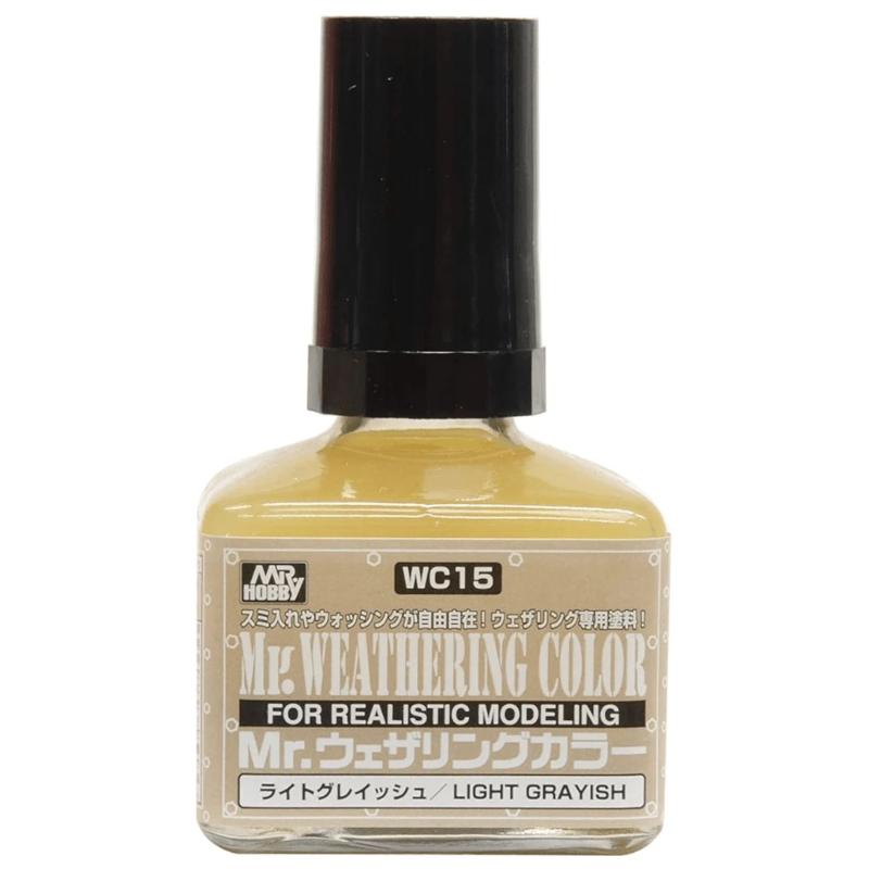 Mr Hobby Mr. Weathering Color - Light Grayish - 40ml