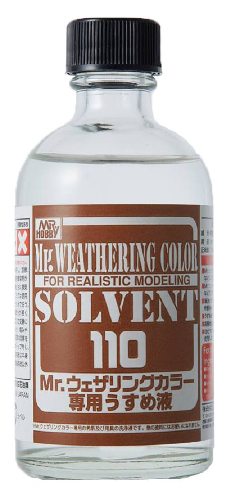 Mr Hobby Mr. Weathering Color - Solvent 110 - 110ml