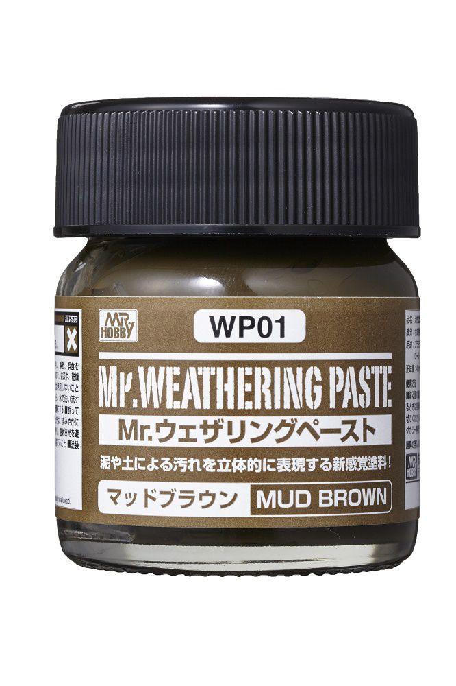 Mr Hobby Mr. Weathering Pastel Mud Brown - 40ml