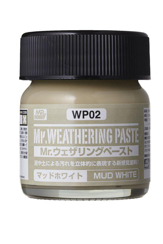 Mr Hobby Mr. Weathering Paste Mud White - 40ml