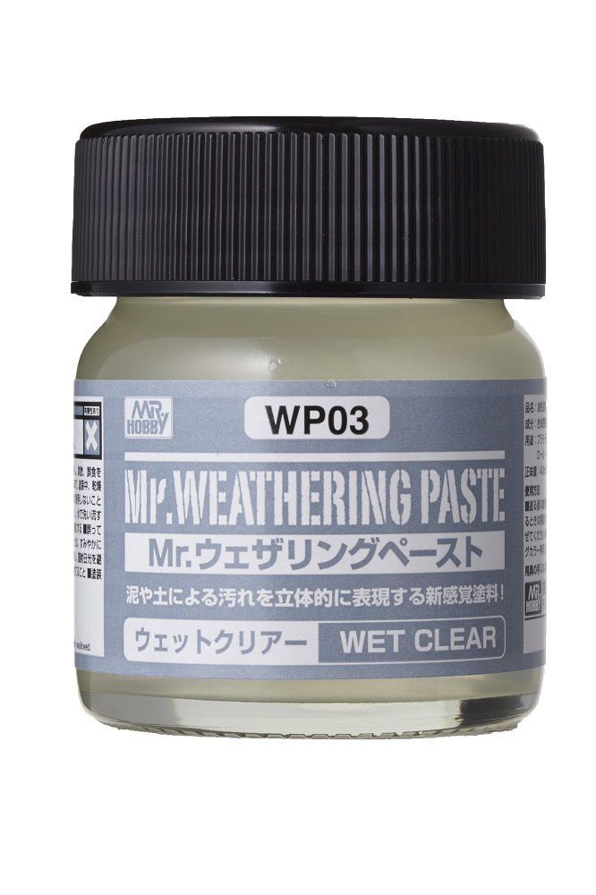 Mr Hobby Mr. Weathering Pastel Wet Clear - 40ml