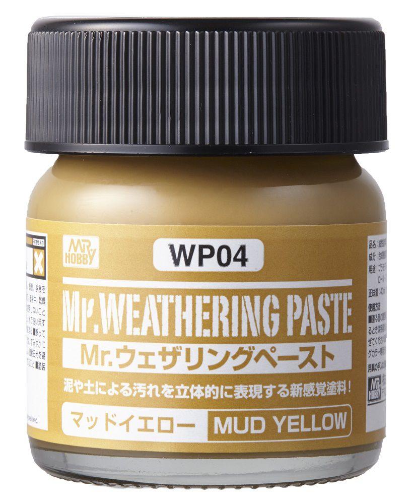 Mr Hobby Mr. Weathering Pastel Mud Yellow - 40ml