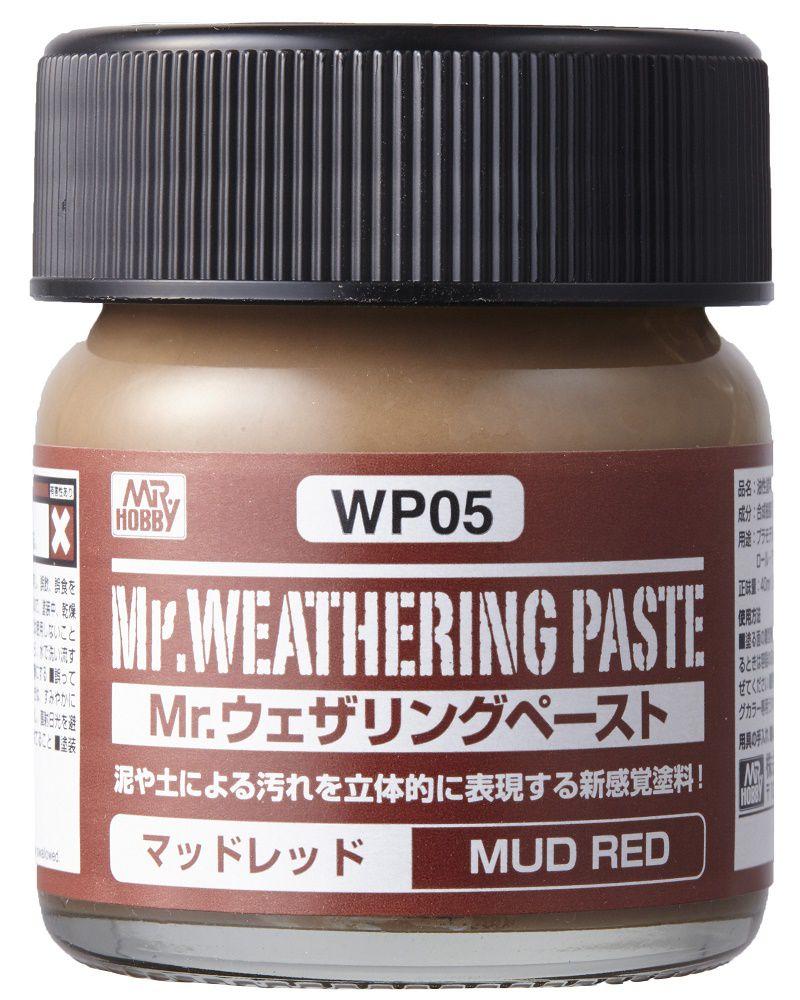 Mr Hobby Mr. Weathering Pastel Mud Red - 40ml