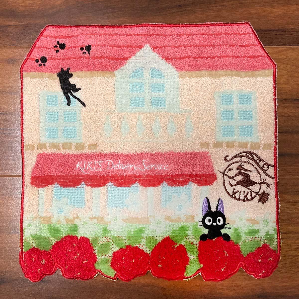 "Marushin Jiji Flower Maison Mini Towel ""Kiki's Delivery Service"""