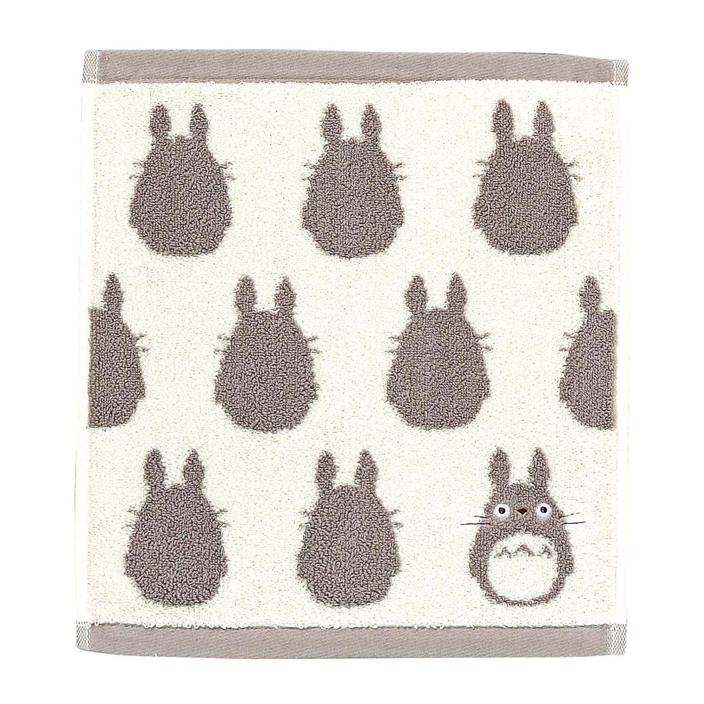 "Marushin Studio Ghibli Silhouette Towel Series Big Grey Totoro - (Wash Towel) ""My Neighbor Totoro"", Size: 13"" x 14.17"""