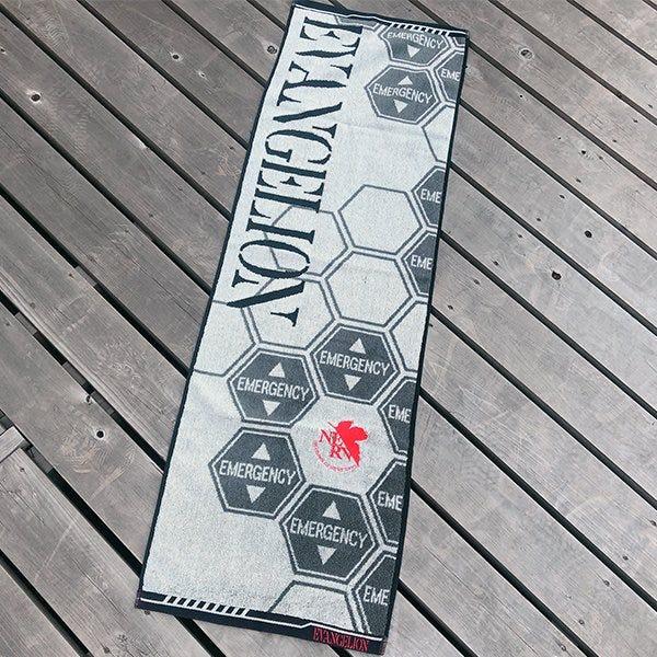 "Marushin Nerv Emergency Sports Towel ""Evangelion"""