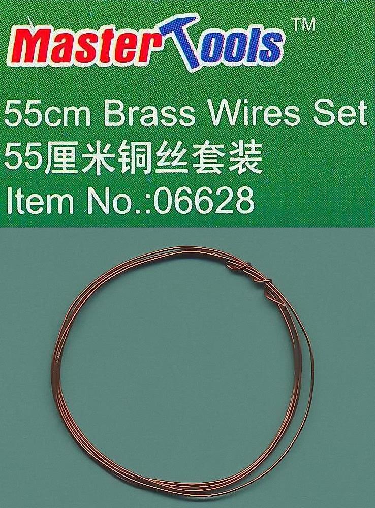 Master Tools 55cm Brass Wire Set