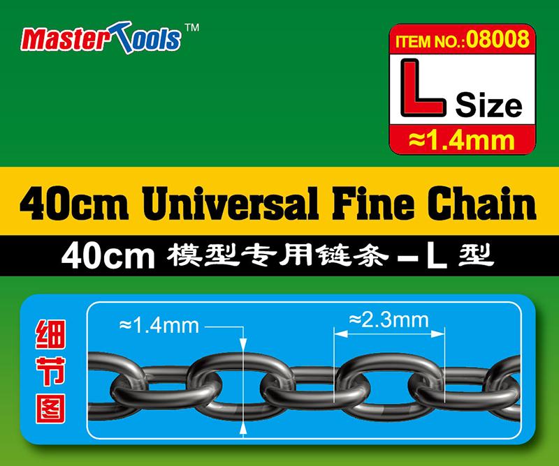 Master Tools 40CM Universal Fine Chain L Size 1.4mmX2.3mm