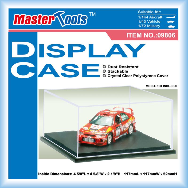 Master Tools Display Case 117x117x52mm QS