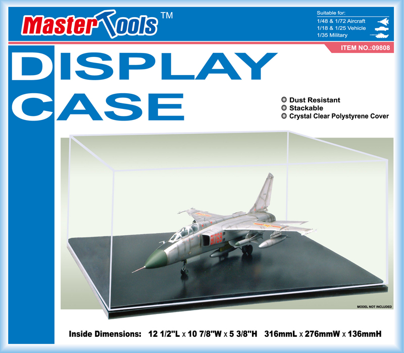 Master Tools Display Case 316x276x136mm QM