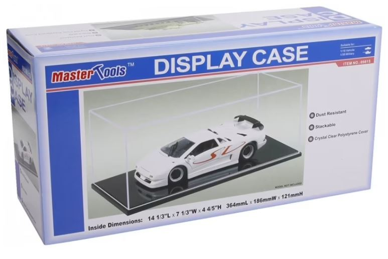 Master Tools Display Case 364mm x 186mm x 121mm