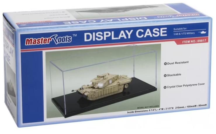 Master Tools Display Case 210x100x80mm