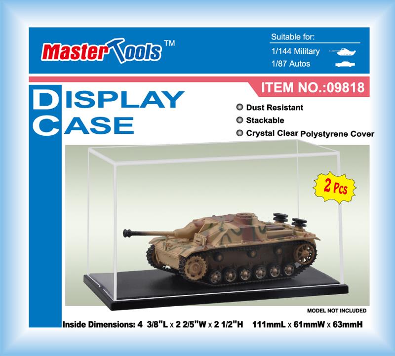 Master Tools Display Case 111x61x63mm