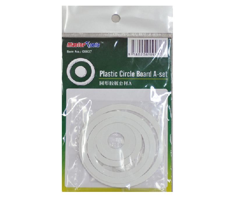 Master Tools Plastic Circle Board A-set