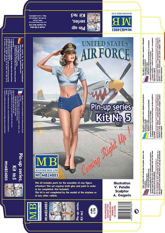 MASTER BOX Pin-up series, Kit No. 5. Patty