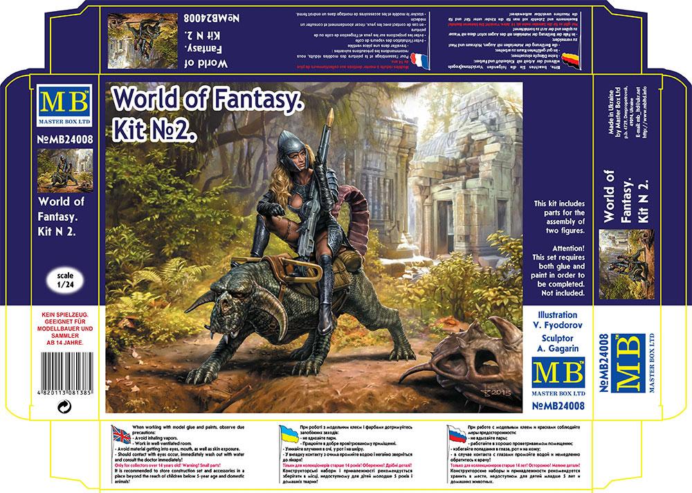 MASTER BOX World of Fantasy. Kit No. 2