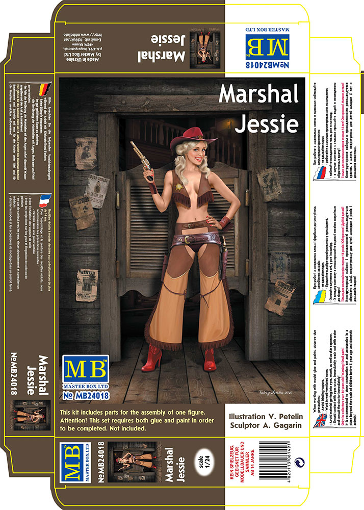 MASTER BOX Marshal Jessie