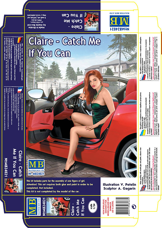 MASTER BOX Dangerous Curves, Claire - Catch Me If You Can