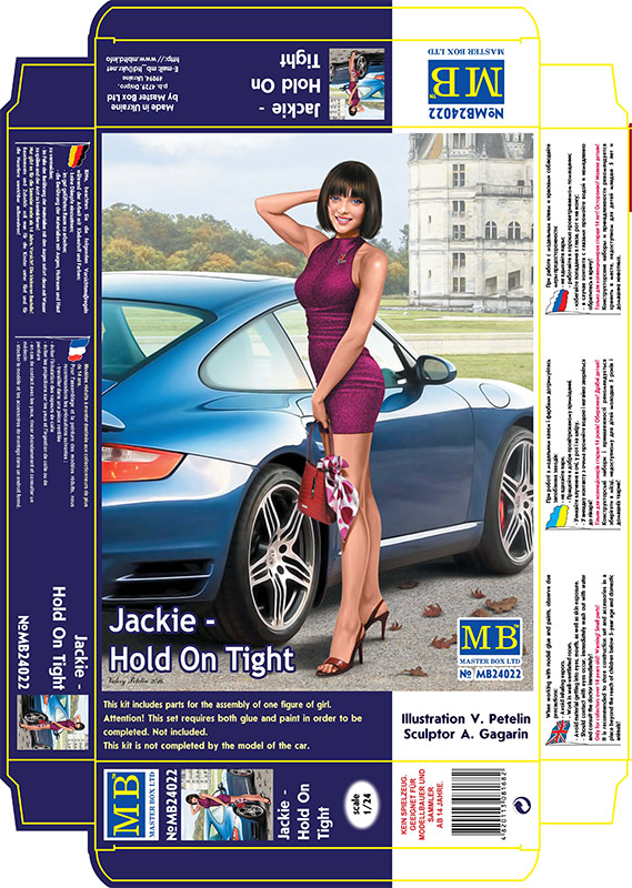 MASTER BOX 1/24 Dangerous Curves, Jackie - Hold On Tight