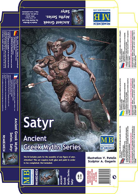 MASTER BOX 1/24 Ancient Greek Myths Series. Satyr